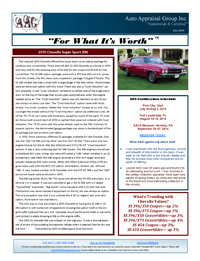 Auto Appraisal Group Newsletter for July 2014
