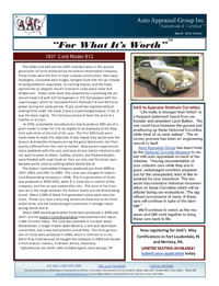 Auto Appraisal Group Newsletter for March 2014
