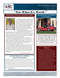 Auto Appraisal Group Newsletter for November 2013